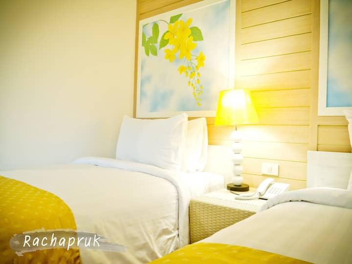 Rachapruk Twin Standard Room