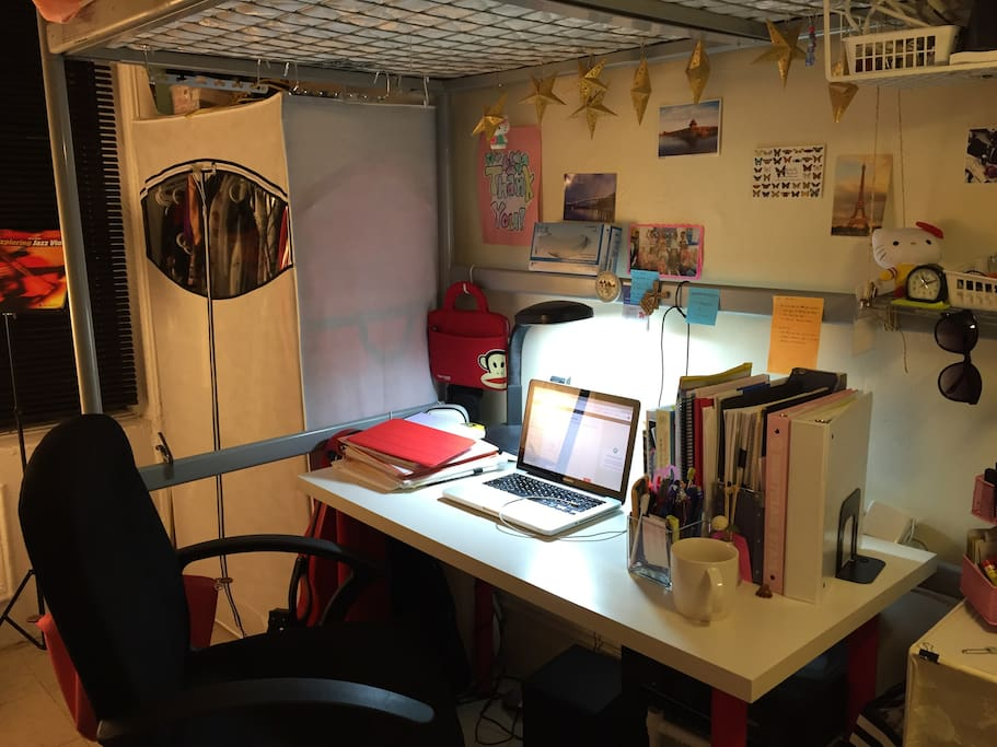 sweet study / working /resting space