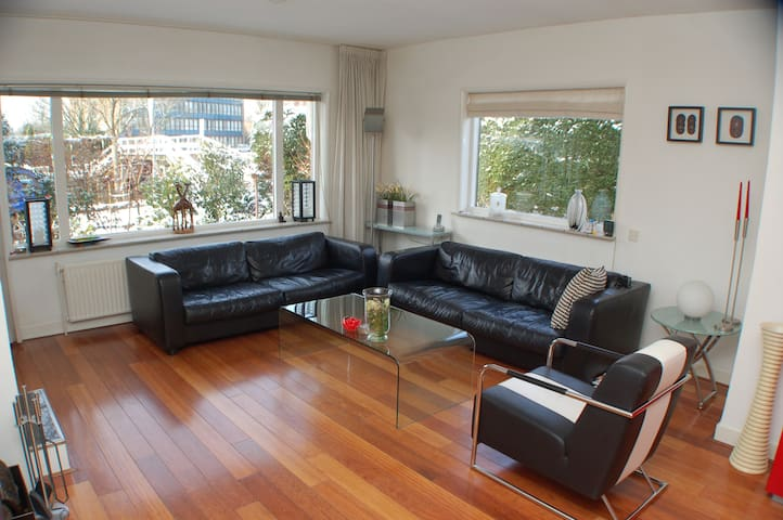 Spacious family house with large sunny garden!