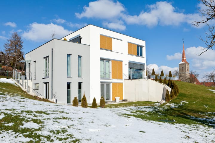 Modern House on two levels w garden - Sachsen bei Ansbach - Dom