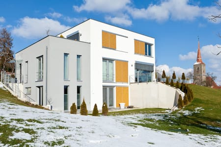 Modern House on two levels w garden - Sachsen bei Ansbach - Casa