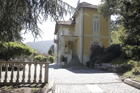 Villa liberty a 20 minuti da Torino... - Lanzo Torinese - Bed & Breakfast