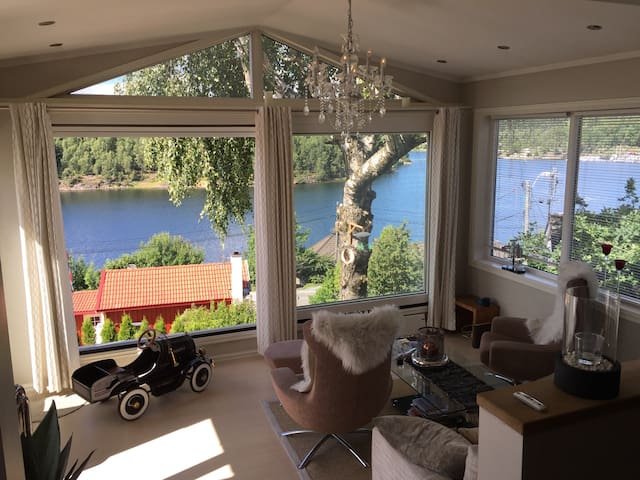 Fantastisk flott bolig nært sjøen - Porsgrunn