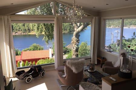 Fantastisk flott bolig nært sjøen - Haus