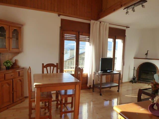 Cerdanya,apartament amb vistas