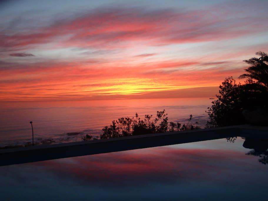 Sunset  from Primaview