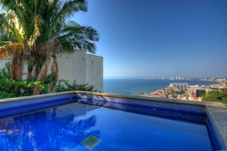 Penthouse with pool in PV with Breath Taking Views - Puerto Vallarta - Villa