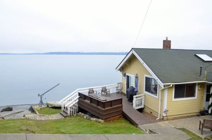 Vashon Island Waterfront Getaway - Vashon - Casa