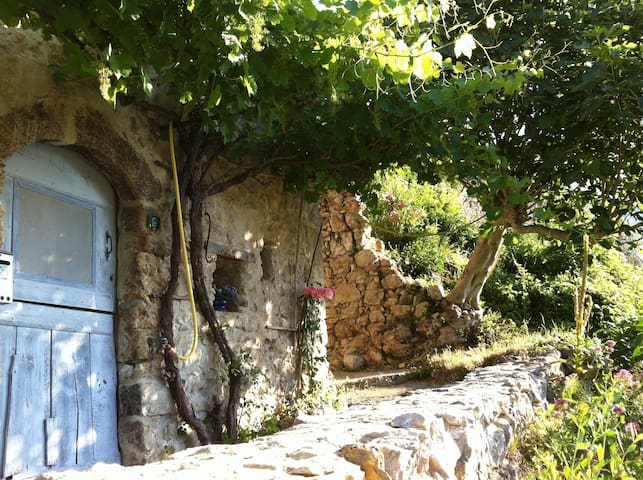 Village stone house in Provence