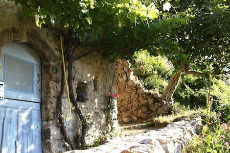Village stone house in Provence - Sigale