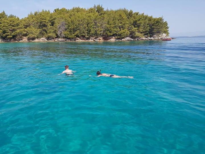 Frnaza bay snorkling