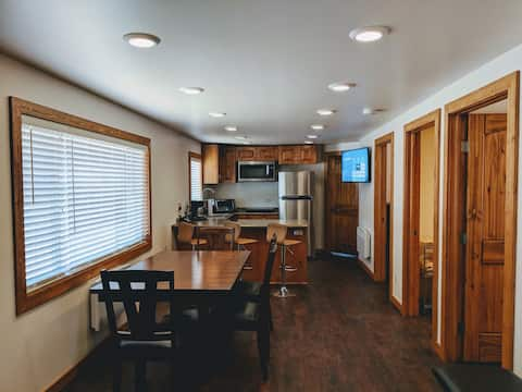 Bunkhouse East Suite - Newly renovated in Town!