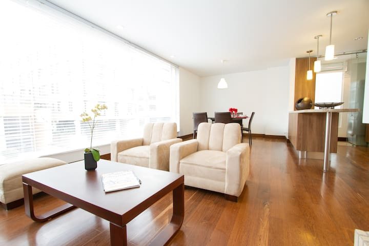 Furnished New Stylish 3BR-Ap Chico - Bogota - Appartement