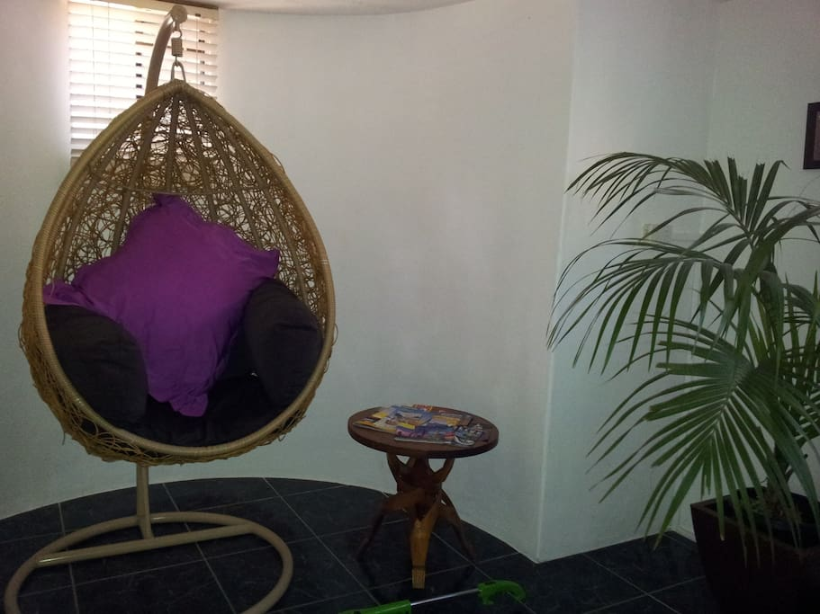 Hanging Pod Chair in your bedroom