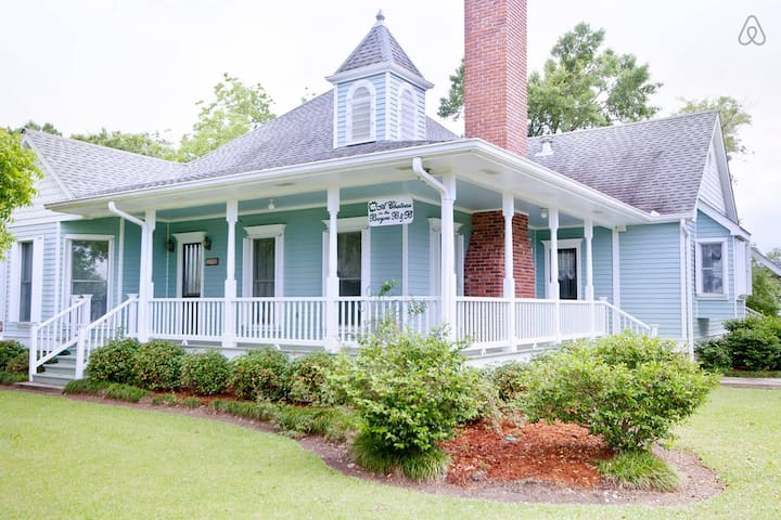 A Chateau on the Bayou Bed & Breakfast - Bedroom 3 - Double Bed & Twin