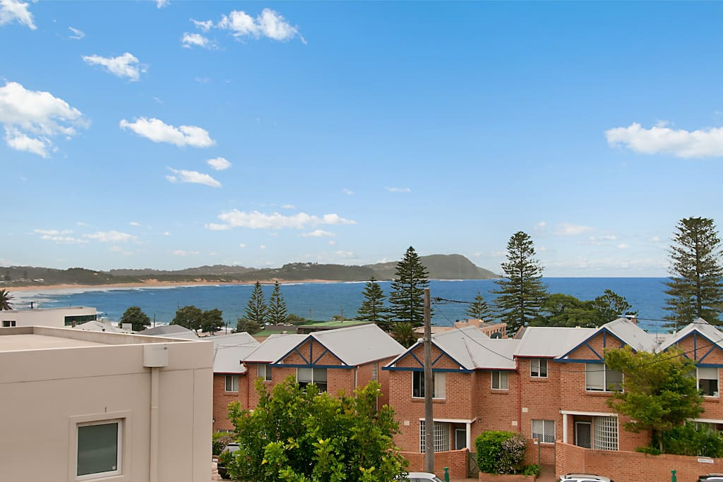 Great views of Terrigal and Wamberal beaches