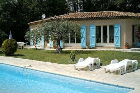 Villa meublee 95m2,Tennis,Pool - Trans-en-Provence - Casa de camp