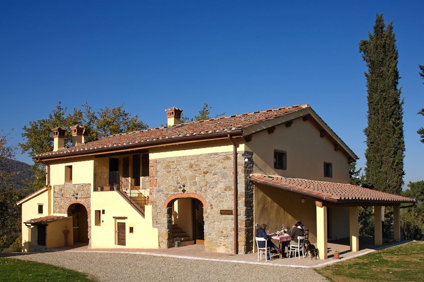 """A wonderful, old stone farm containing individual apartments with everything you need"" Ingrid Aug 2015"