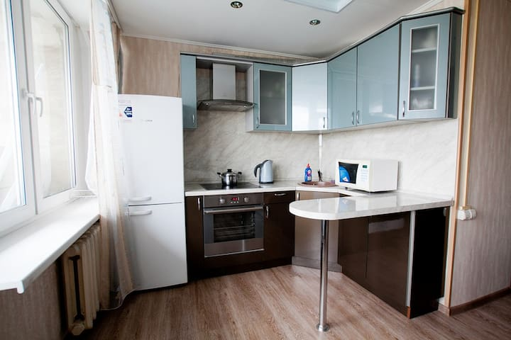 Western style aprt 300 m at Dinamo  - Moskou - Appartement