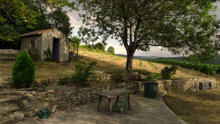 France south Ardèche near rivers - Mirabel  - บ้าน