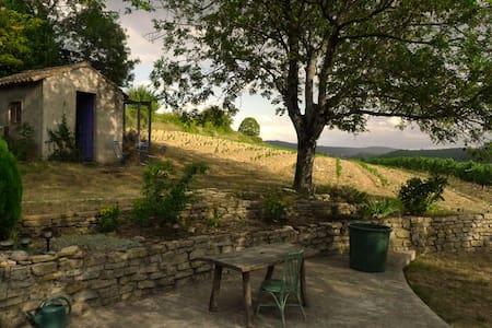 France south Ardèche near rivers - Mirabel
