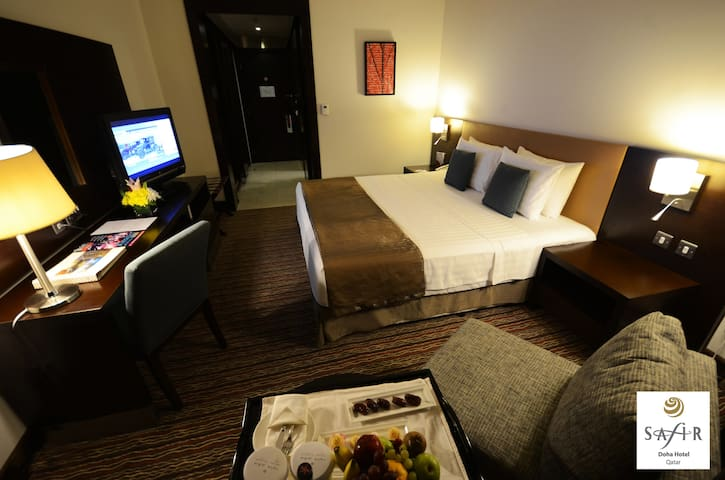 Superior Room + free airport transportation