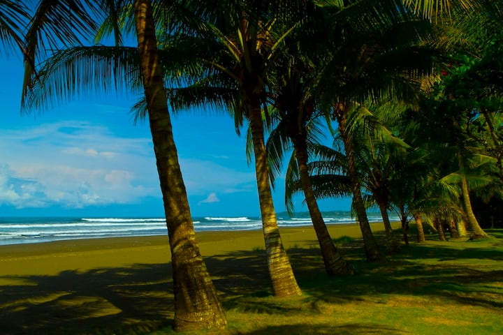 Sun-splashed Beachfront Bungalow at the Award-winning Alma del Pacifico Beach Hotel & Spa