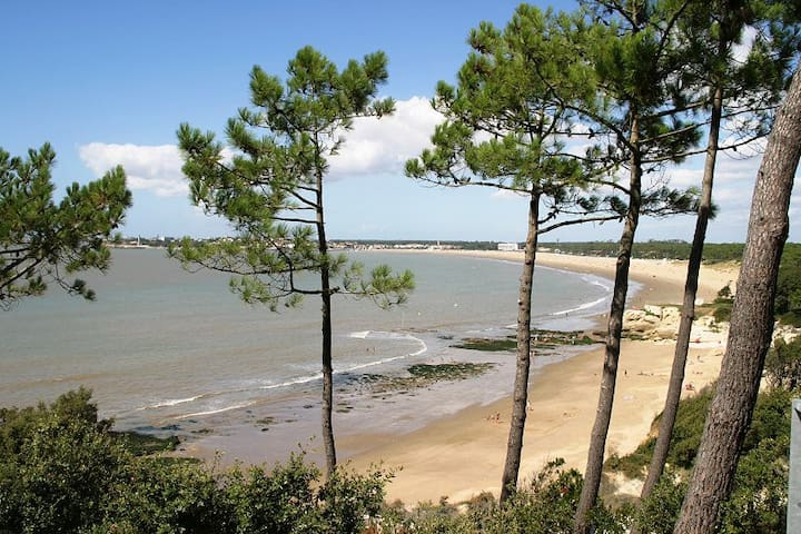 Rent Studio near Royan France - Saint-Georges-de-Didonne - Apartamento