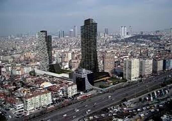mecidiyeköy merkezde temiz oda - Istanbul - Bed & Breakfast