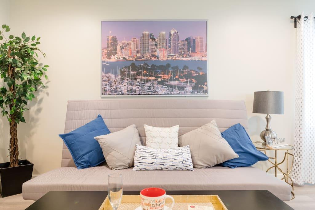 Ultra-comfy Sofa bed (Queen size)
