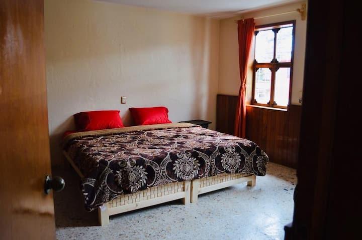 Kingsize En-Suite, shared Terrace, in the Centre