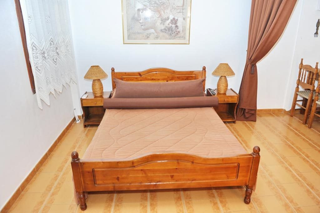 the  double bed