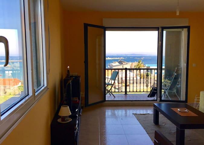 Apartamento con vistas al Mar al lado de la playa - A Coruña - Appartement