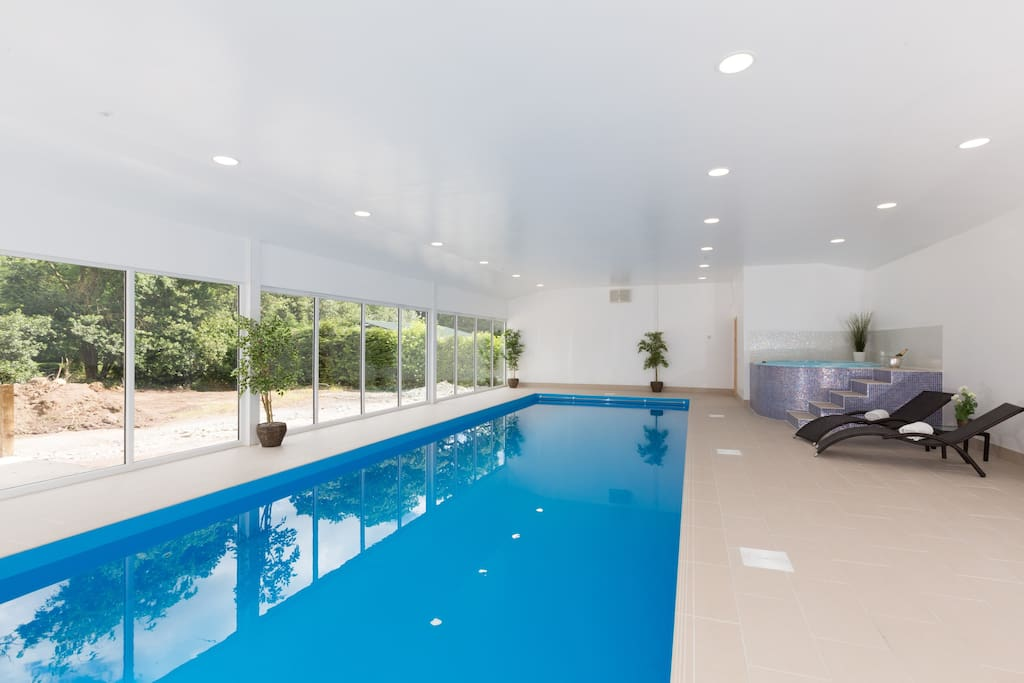 Complimentary use of our Indoor Heated Swimming Pool