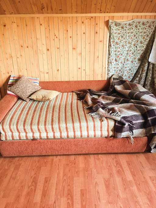 3 этаж, раскладной диван