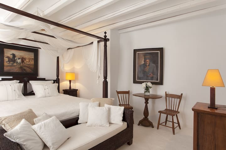 5 * hotel quality - PRIV ROOM+BATH - Mykonos - Huis