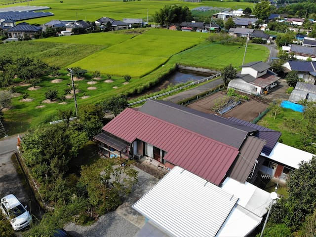 Higasino Satoyama/Stay at a leek farmhouse