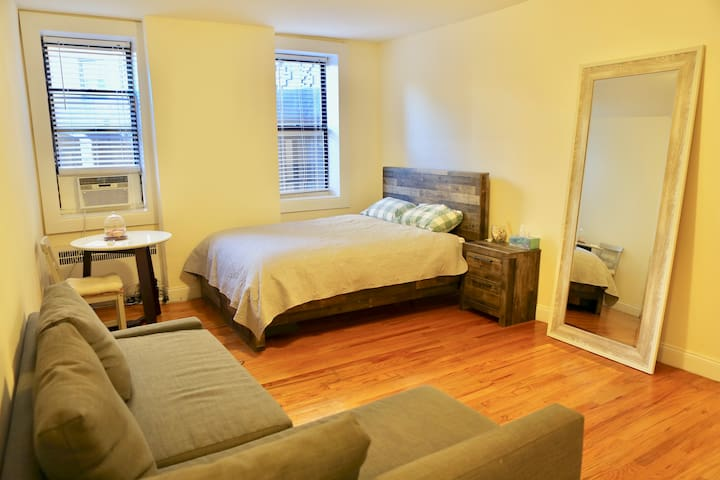 Spacious apartment in front of Prospect Park