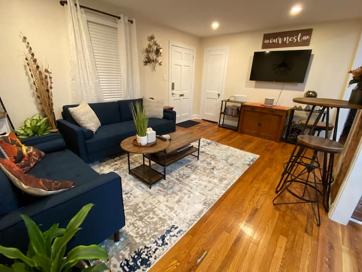 Retreat-Explore-Repeat in Comfy Rivermont Home