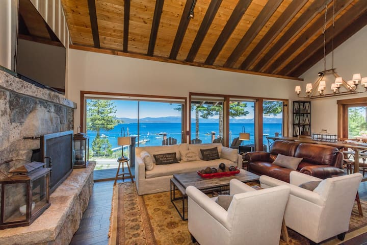 Voted BEST VIEW-The Lodge at Tahoe.  Lake Views
