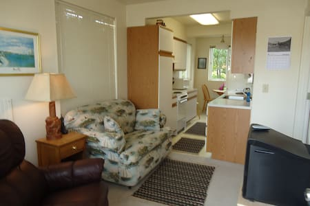 Alsea Suite, Bedroom Kitchen Suite W/Beach Access - Waldport - Pis