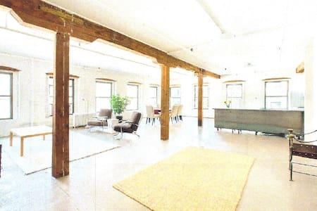 DUMBO Brooklyn Authentic Loft - ブルックリン