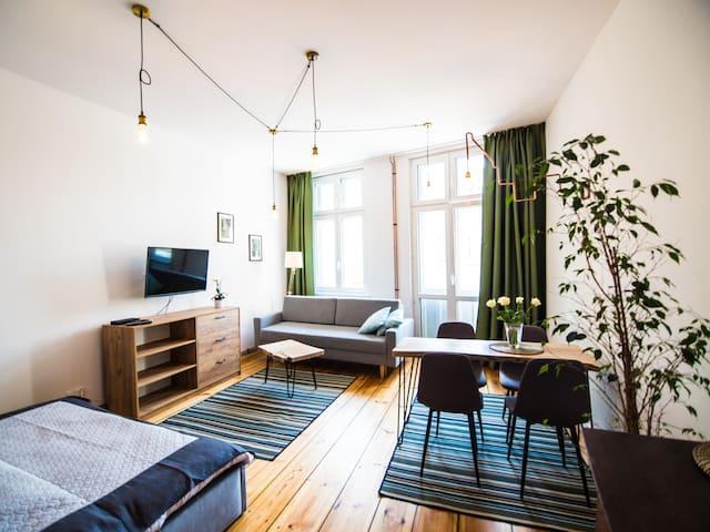 Apartament z widokiem na Ratusz i Planetarium