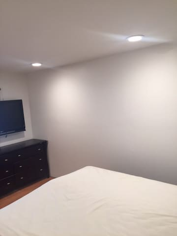 Updated Room with Recessed Lighting with Queen bed - Medford - House