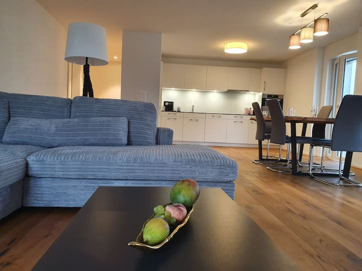 Exklusive stilvolle Wohnung mit Sonnenterrasse