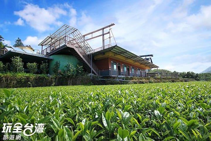 茶園雲海景觀2人房,阿里山瑞里許家茶園民宿