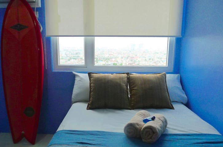 Surf/Sand/Sea-themed Condo in the Heart of Manila - Manila - Lyxvåning