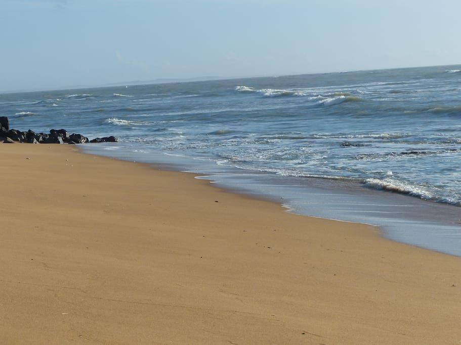 bord de mer à la Cotinière, 3km de la maison