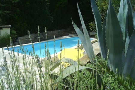 Apart. with Pool Provencal Village  - Callian - Flat