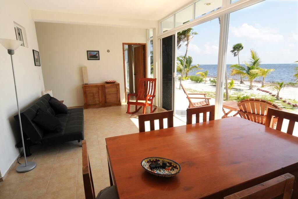 livingroom on the beach